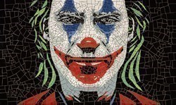 Joker by David Arnott -  sized 23x39 inches. Available from Whitewall Galleries